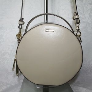 BRAHMIN LANE SAND TOPSAIL LEATHER CROSSBODDY
